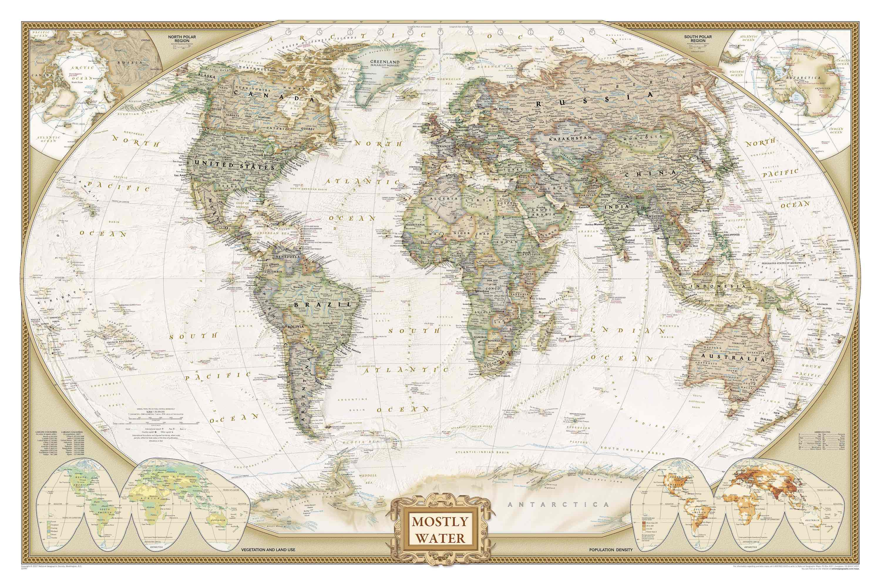 Picture of World Antique Map
