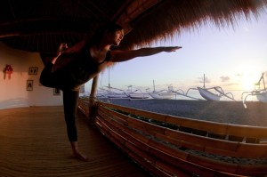 Yoga in Bali, free-diving and yoga education Bali