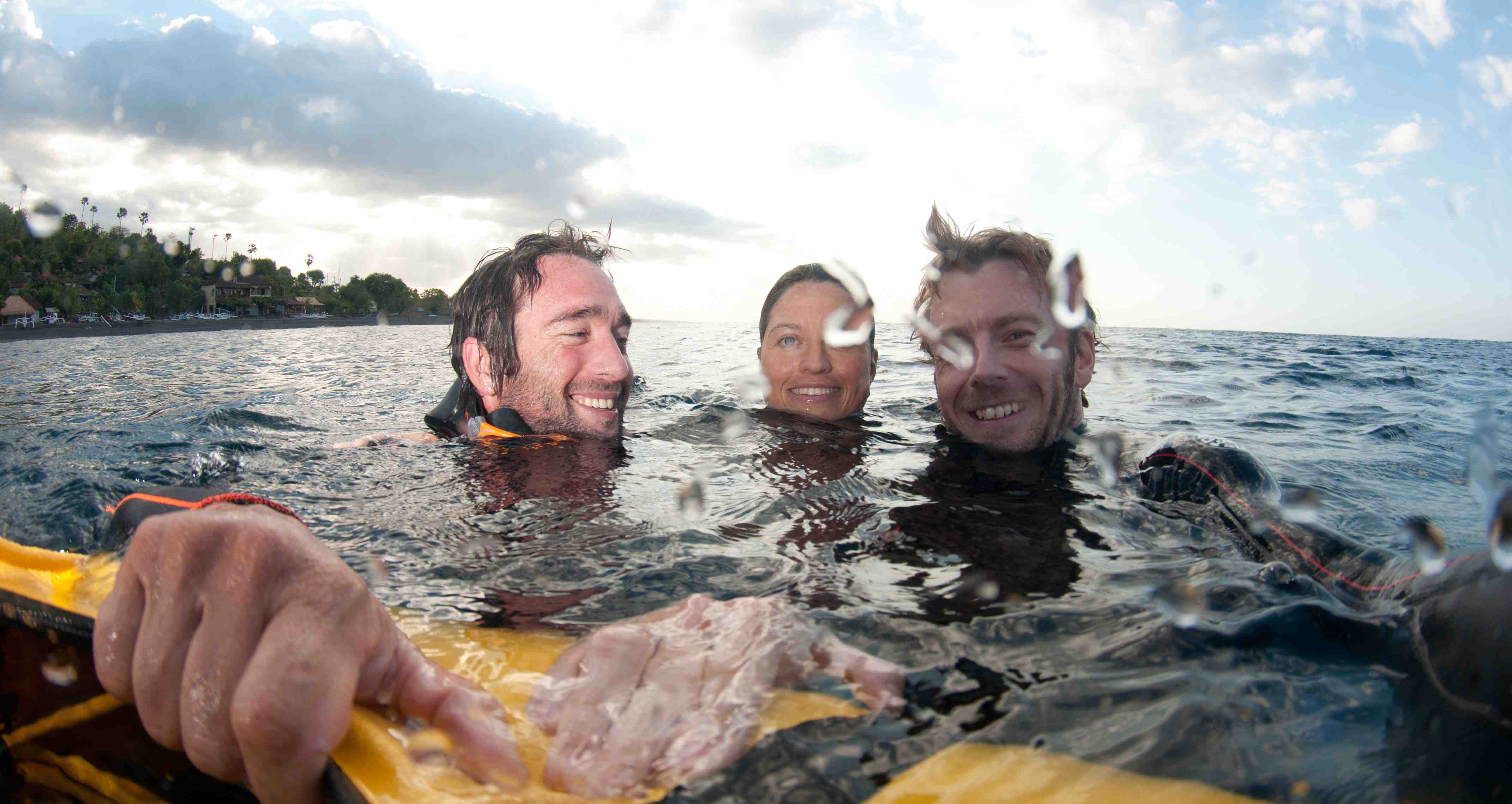 Picture of Level 1 basic freediving course smiling