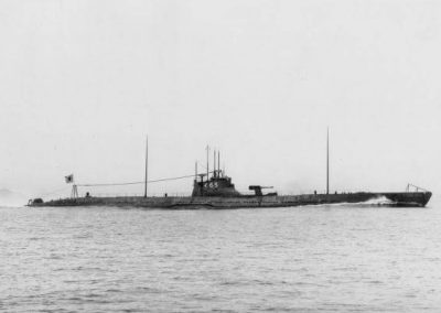 Japanese submarine I-165 in 1932