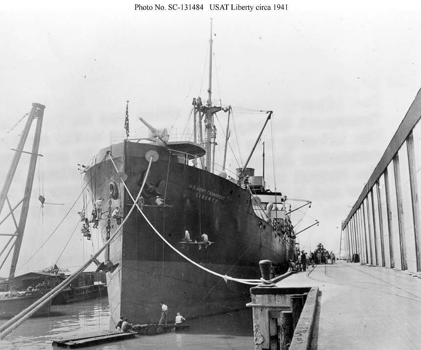Picture of USAT Liberty in 1941