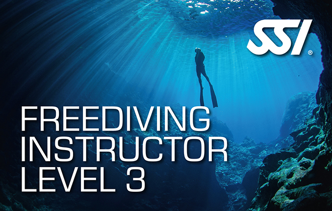 Picture SSI Freediving Instructor Level 3