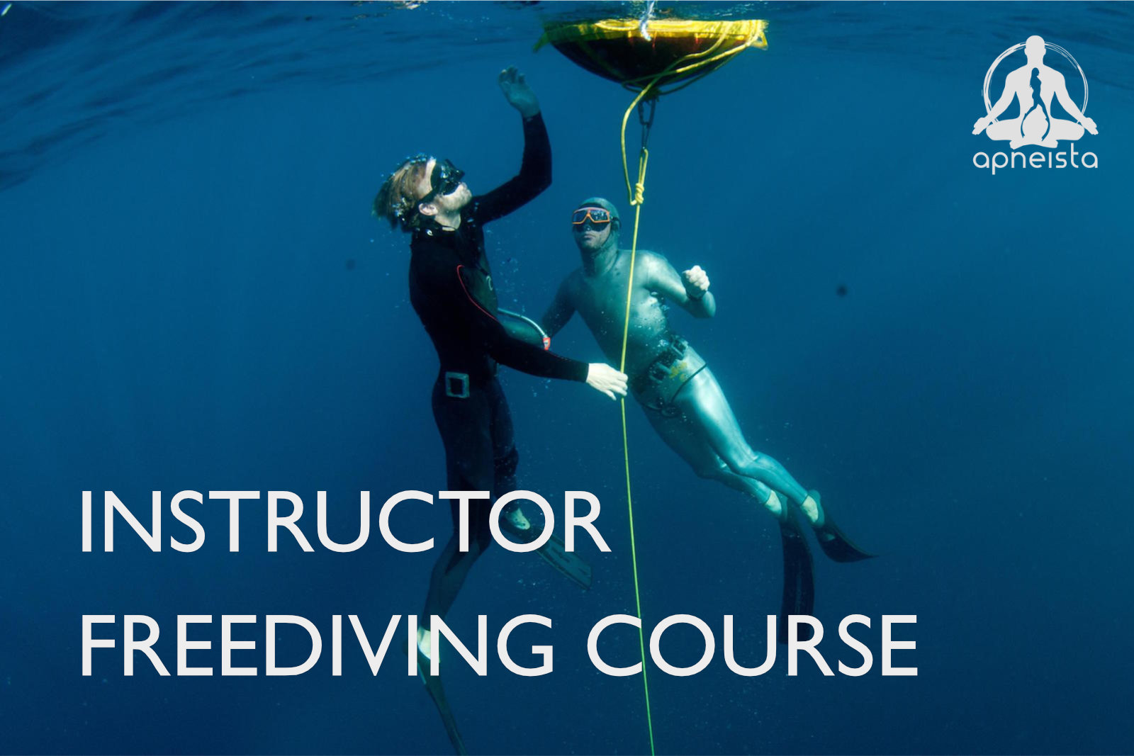 Picture of instructor freediving course