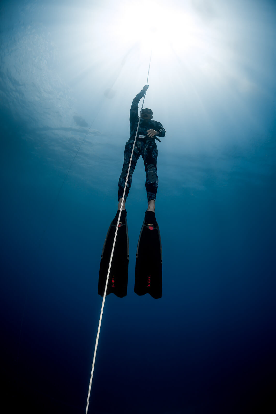 Picture 3 of level 3 deep freediving course