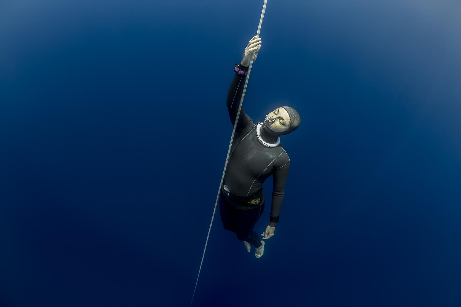 Picture of level 3 deep freediving course