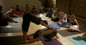 Picture of yoga teaching training
