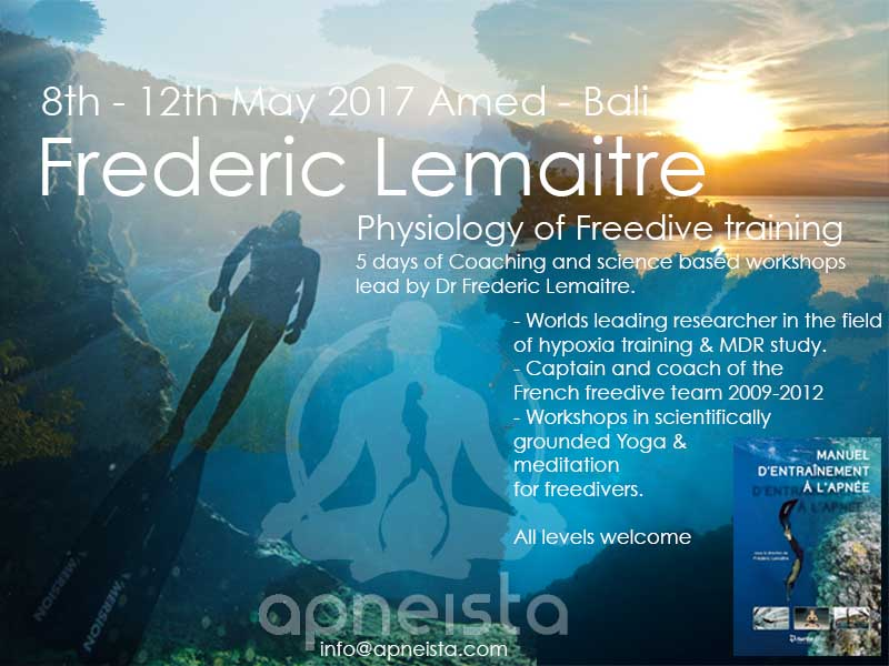 Frederic Lemaitre – Deep immersion into the cutting edge of freedive science.