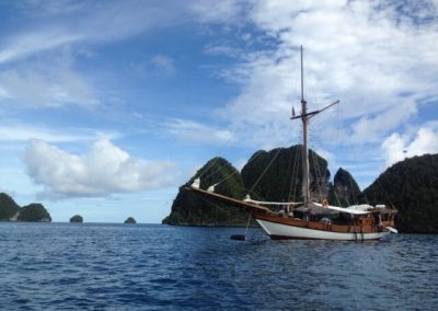 Picture of liveaboard in Raja Ampat boat