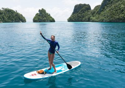 Picture of liveaboard in Raja Ampat SUP
